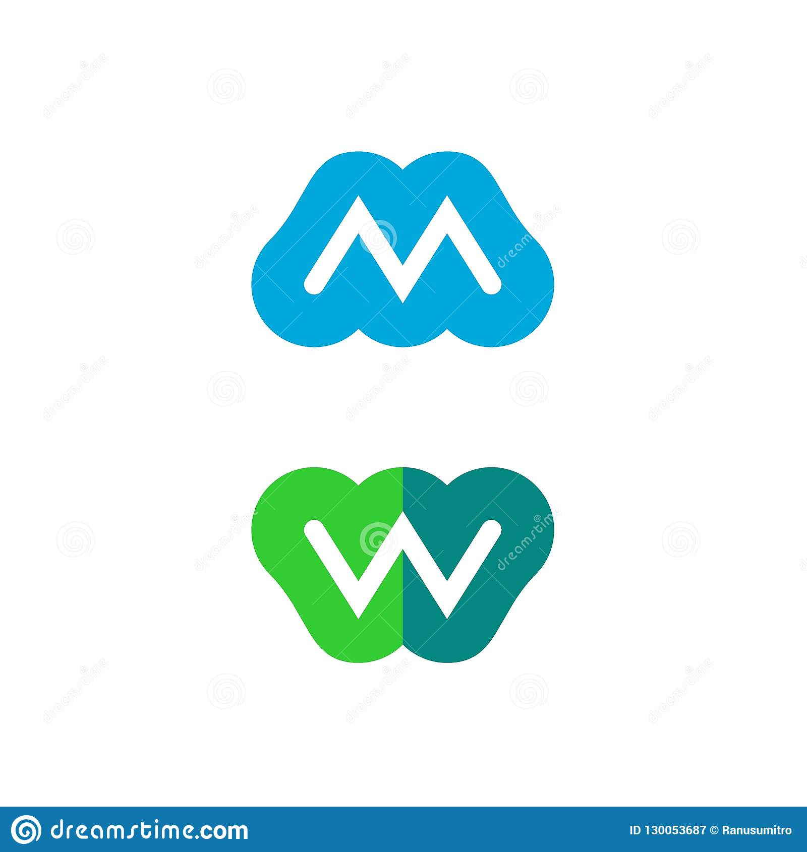 Listowy M i W logo