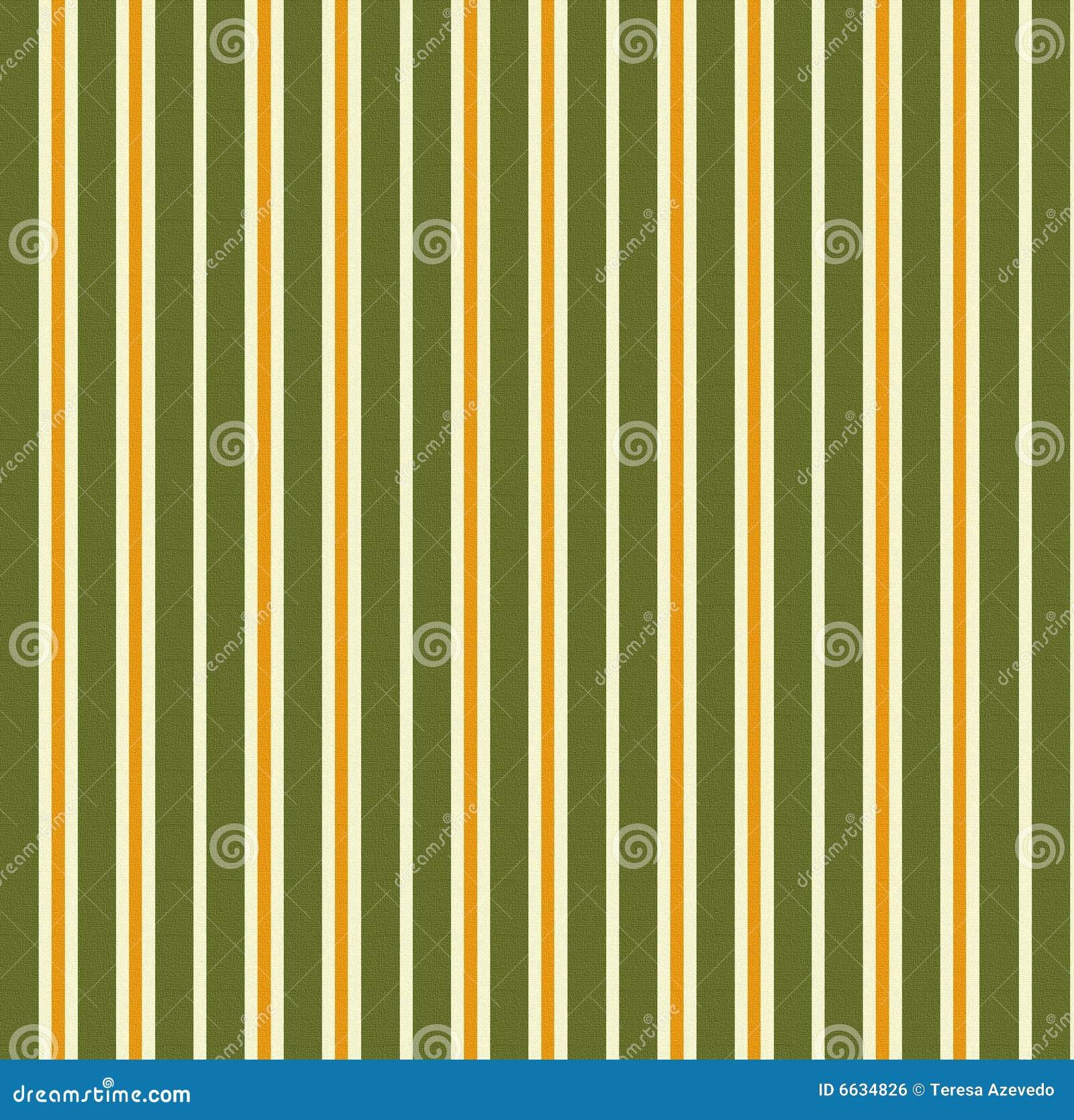 Listra o fundo verde laranja ilustra o stock imagem - Papel de pared de rayas ...