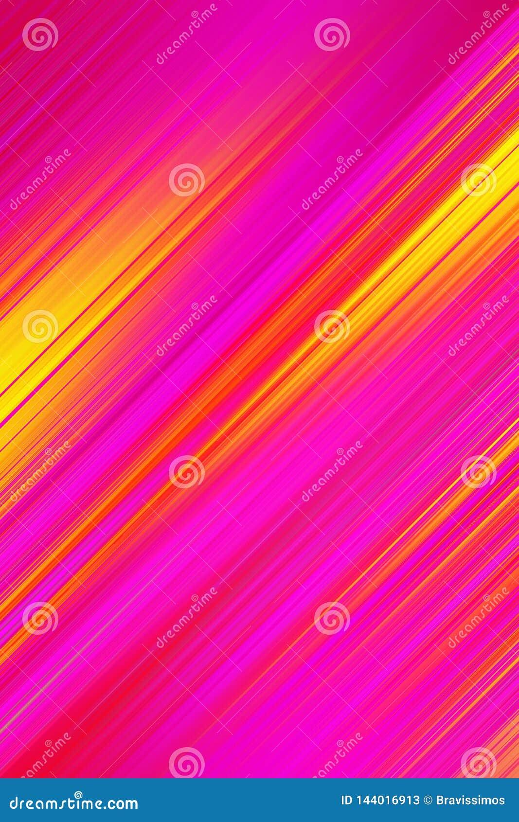 Listras diagonais do fundo do sum?rio Papel de parede gráfico do movimento, linhas inseto