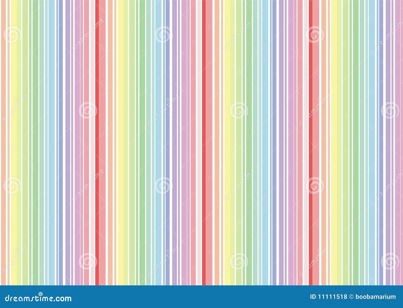 Listras do papel de parede do arco ris ilustra o stock - Papel de pared de rayas ...