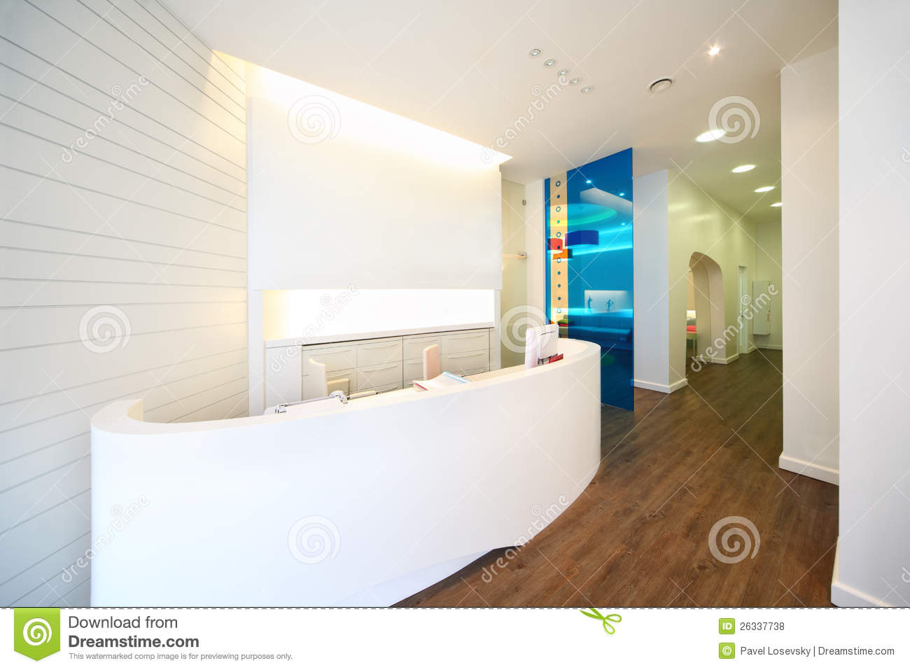 dental office reception. Lit Reception Area In Dental Clinic. Office I