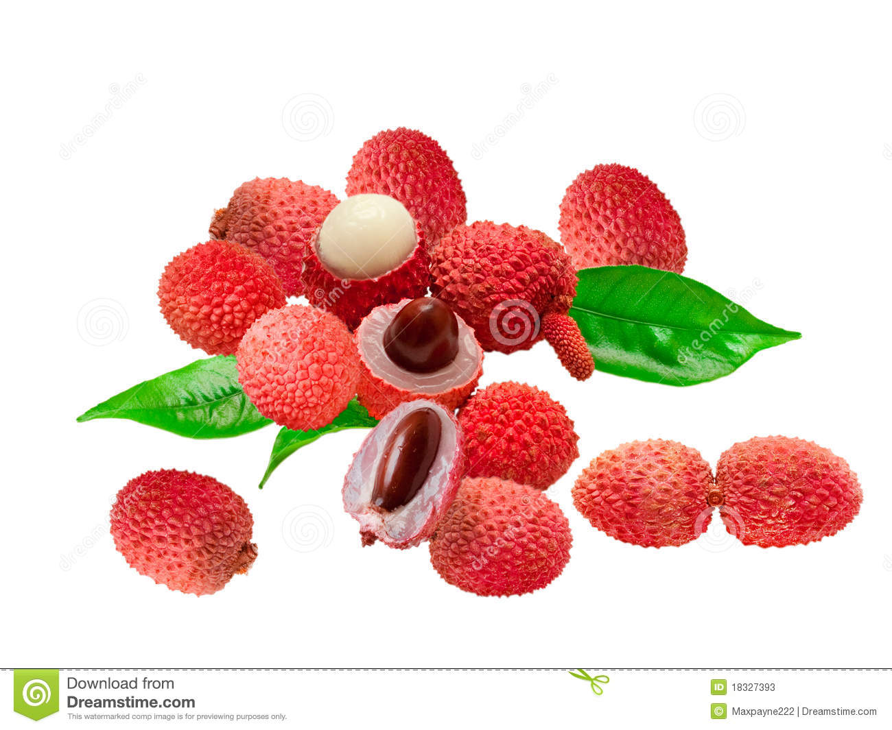 Litchi Stock Image Image Of Isolated Vitamin