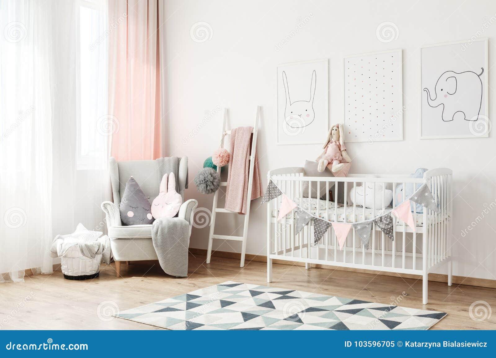 Liten stege i sovrum