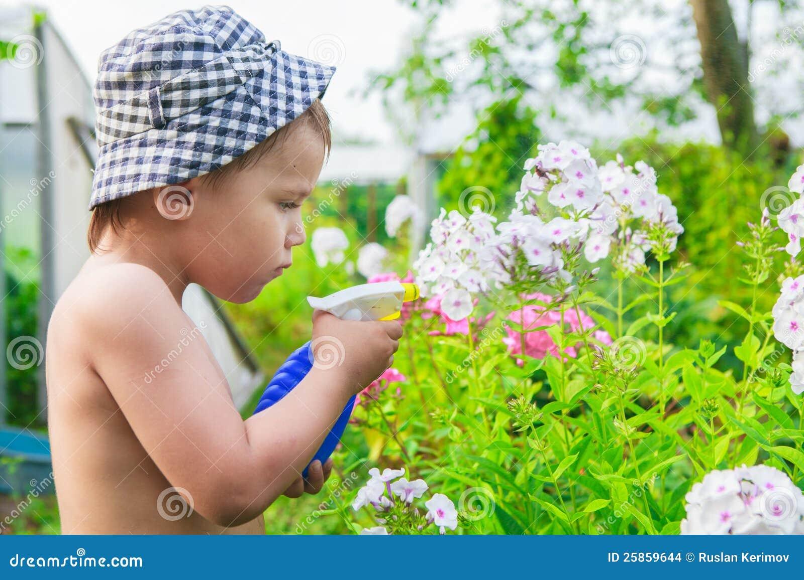 Liten trädgårdsmästare