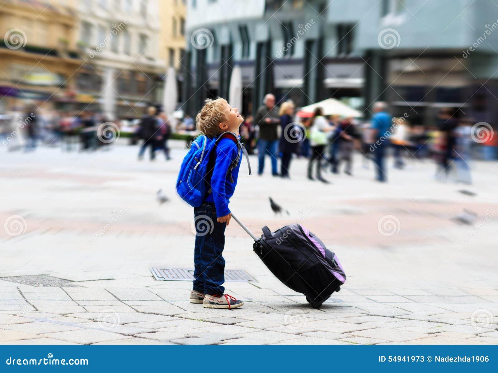 Liten turist i Europa, ungelopp