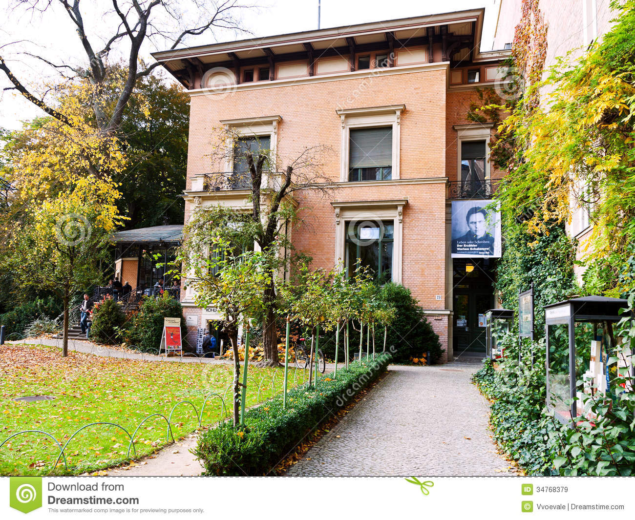 House in berlin in october 19 2013 the house of literature is