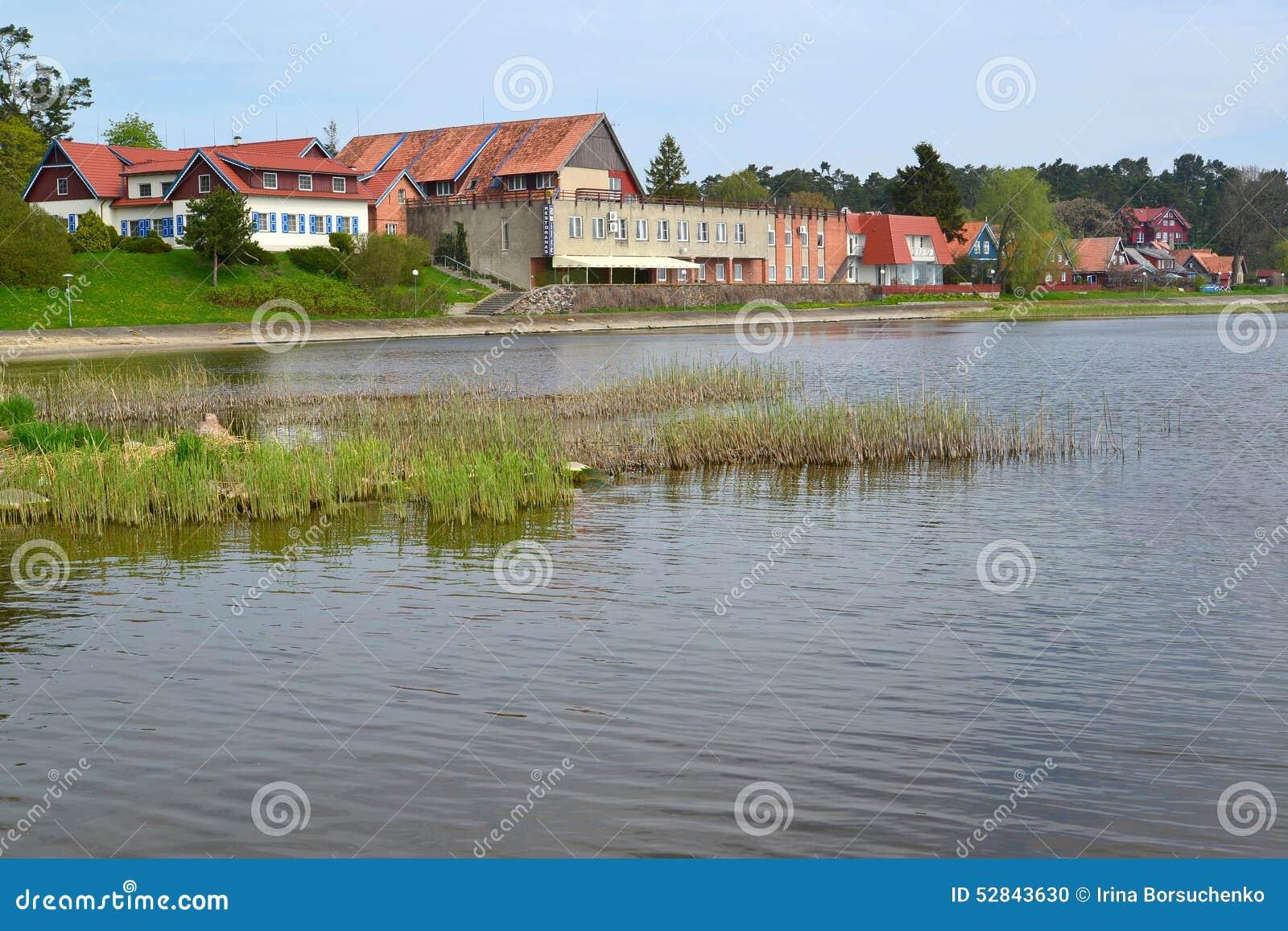 Lithuania O tipo de Nida da baía de Curonian