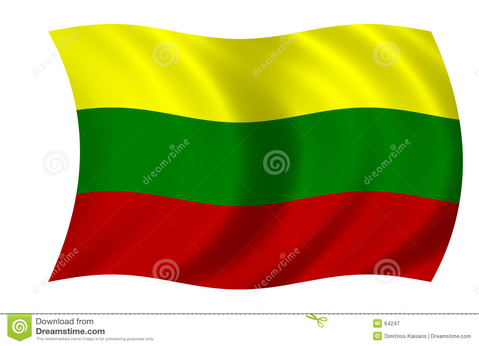 Lithuanian флага