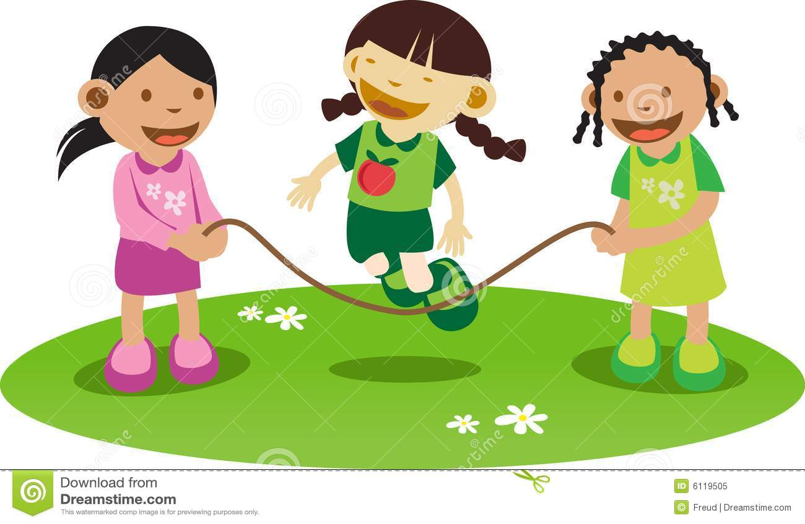 litle girls playing royalty free stock photo   image 6119505