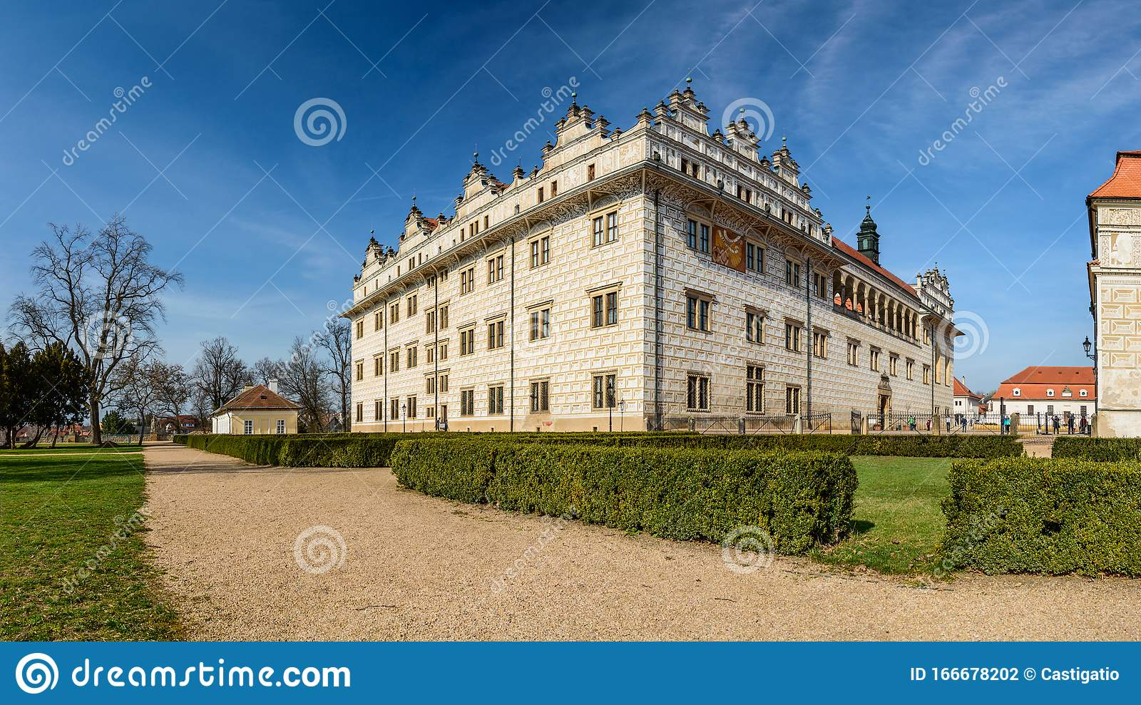 Litomysl Castle A Monument From The Unesco List Perfectly Preserved Stock Photo Image Of Path Sunny 166678202 List perfectly helps sellers list better so they sell more! dreamstime com