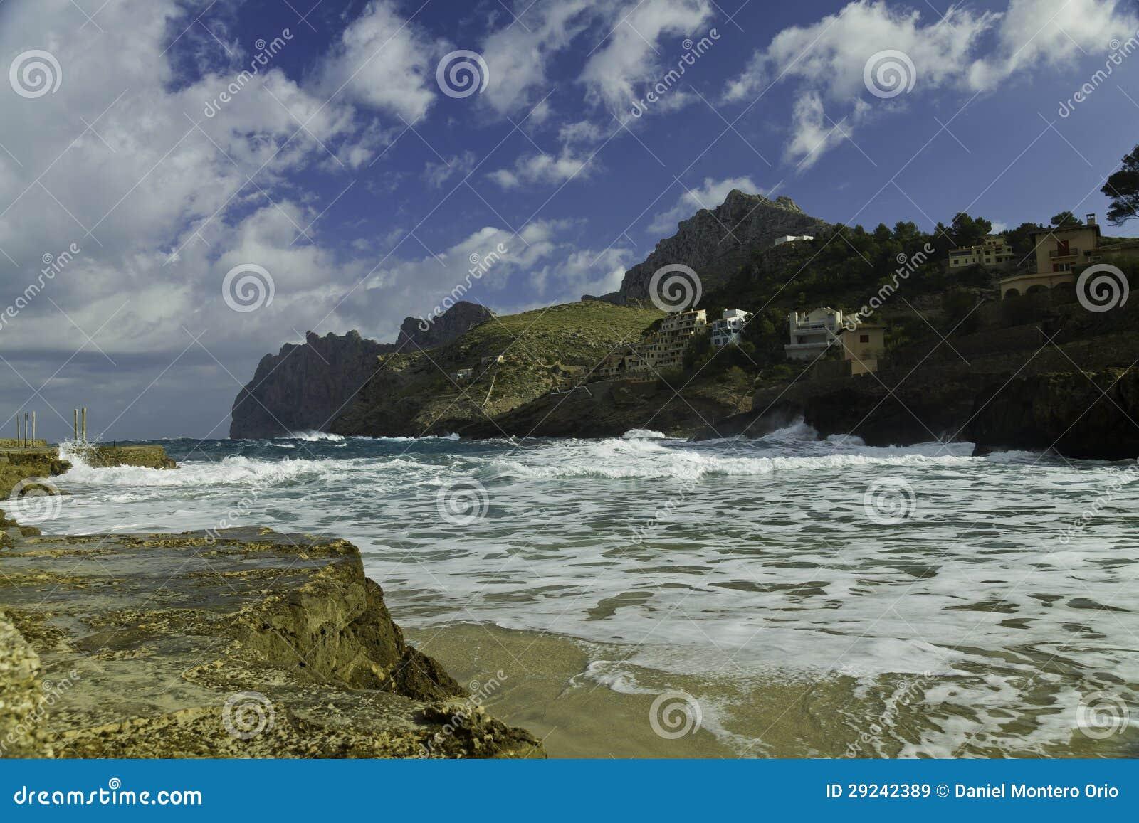 Download Litoral da ilha de Majorca imagem de stock. Imagem de água - 29242389