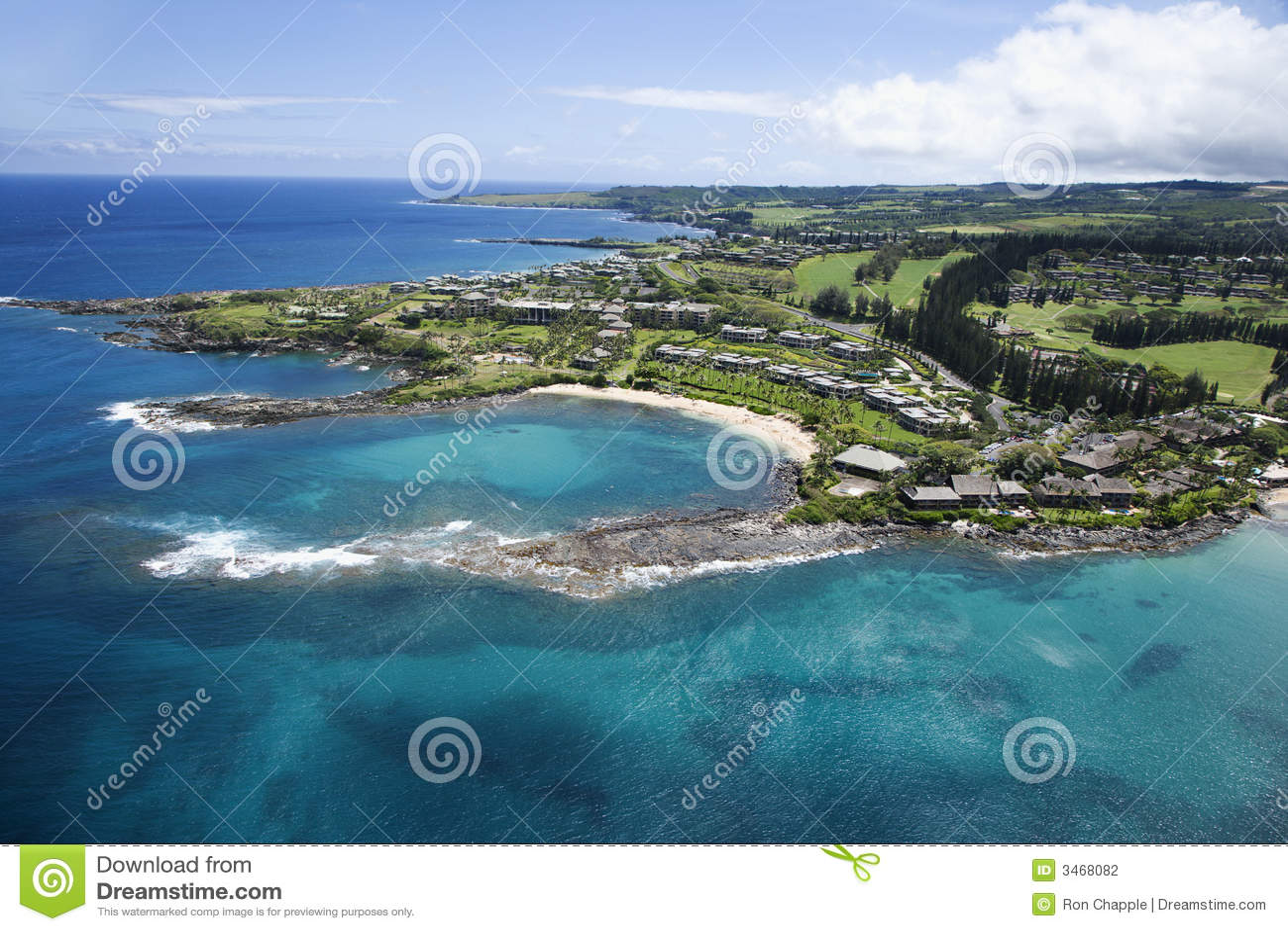 Litoral de Maui.