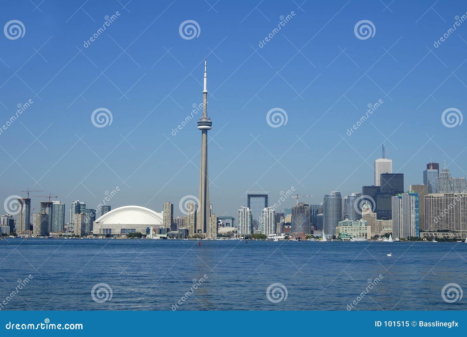 Litoral do dia de Toronto