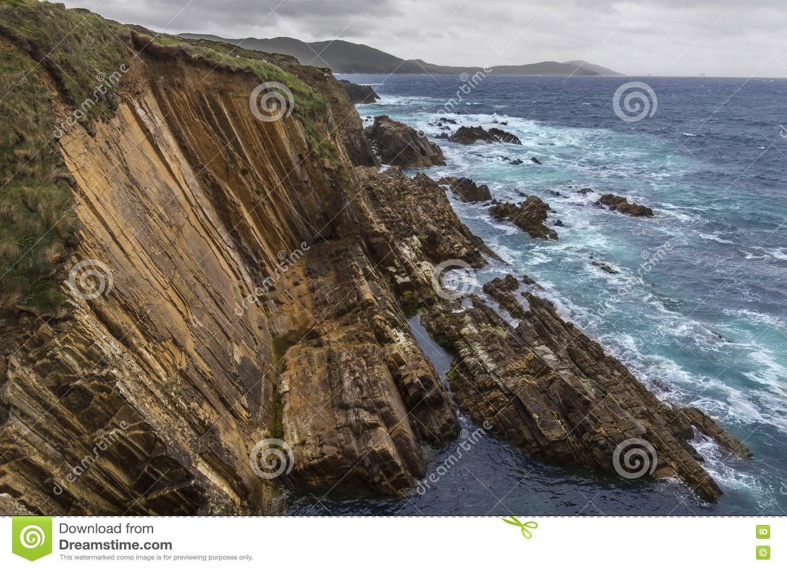 Litoral dramático - península de Beara - Irlanda