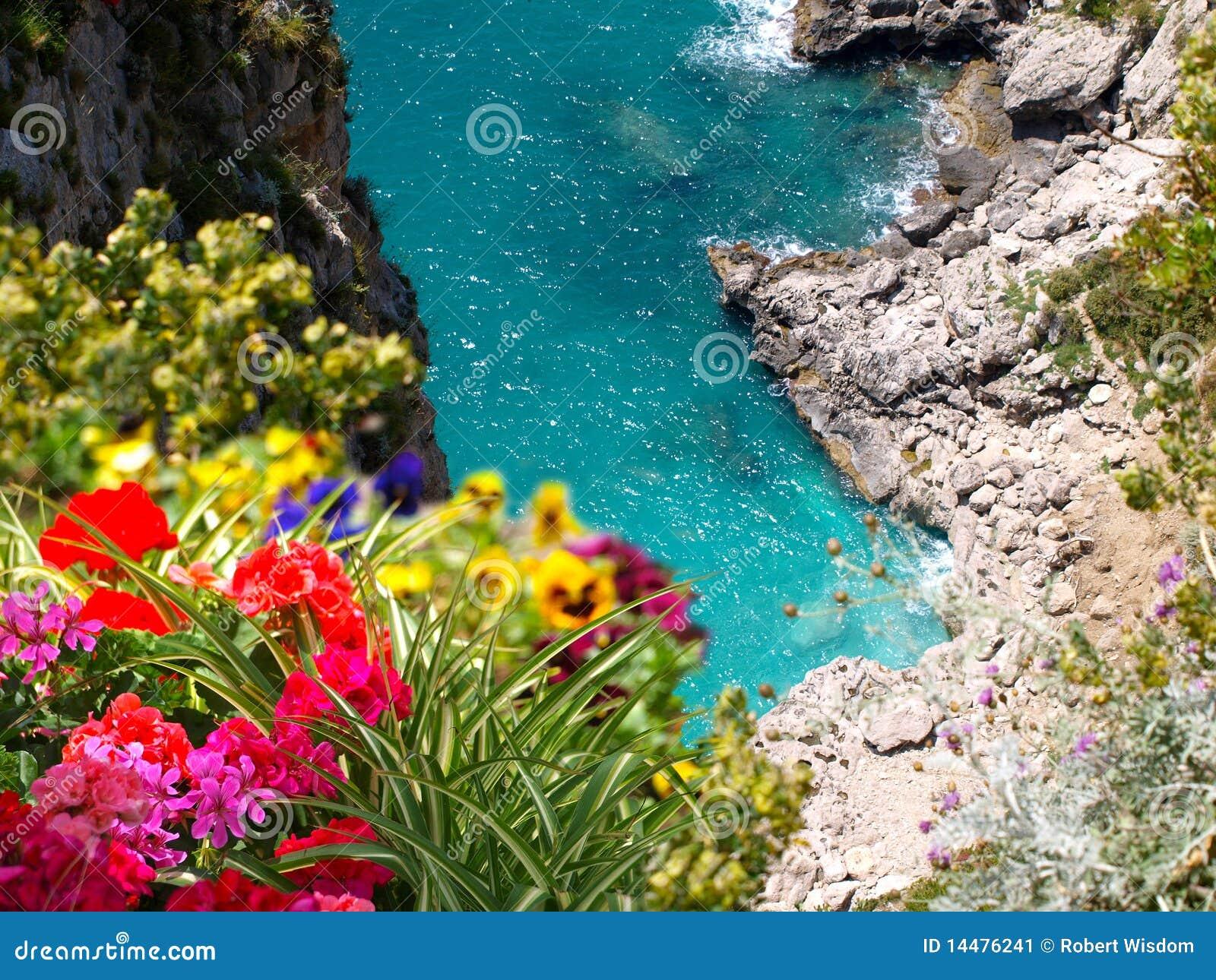 Litorale Capri Italia di Amalfi