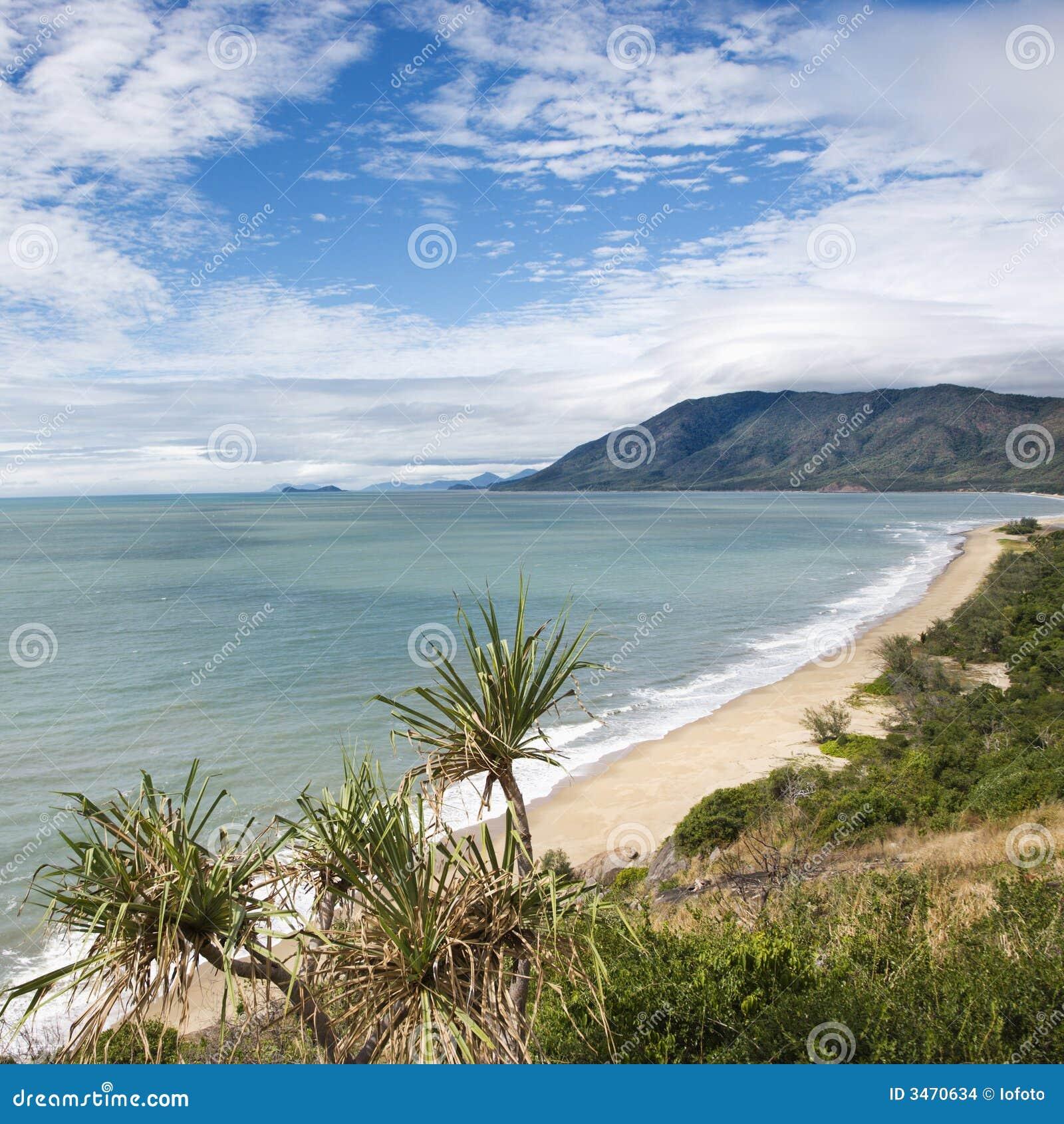 Litorale scenico del Queensland.