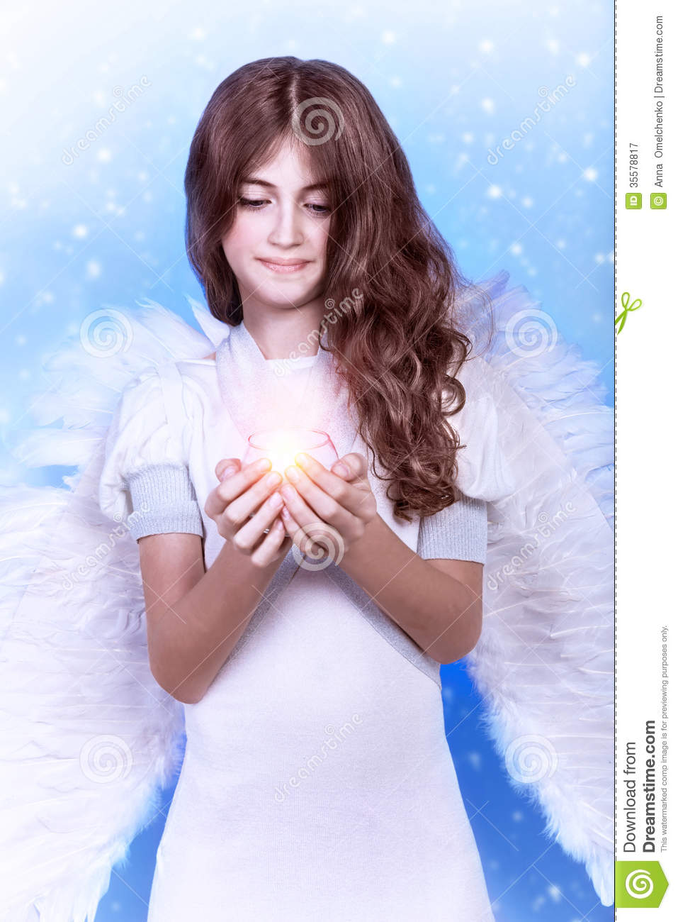 Little angel stock image image of nice angel beauty 35578817 - Fresh teen girls ...