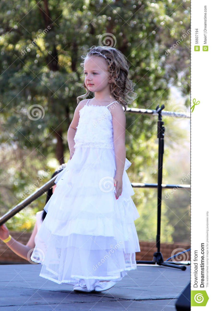 Thabazimbi South Africa  city images : THABAZIMBI, SOUTH AFRICA JUNE 28: Little Angel in white dress at ...