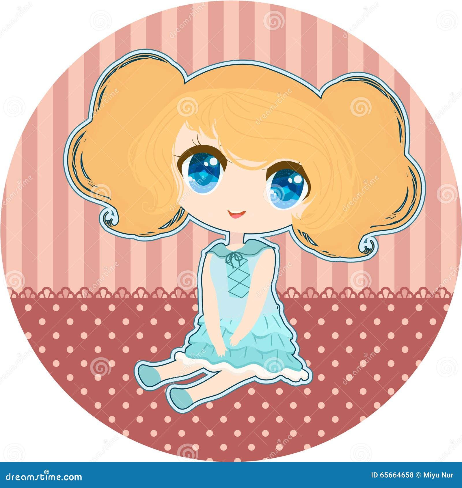 Little anime girl