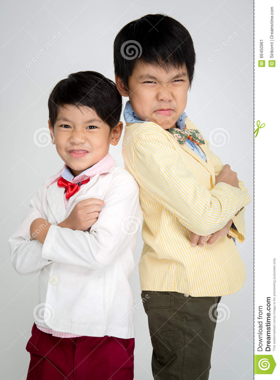 Tiny asian boys