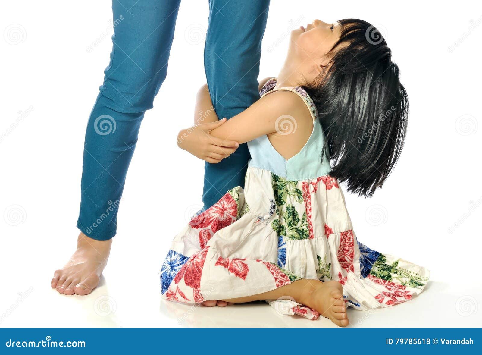 Asian Girl Leg