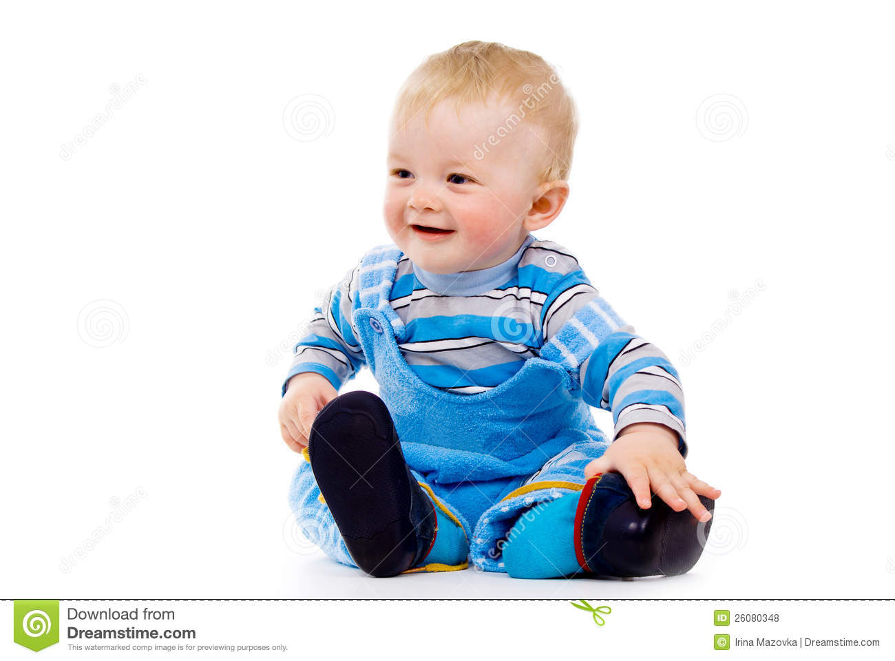 A Little Baby Clothes Shoes Royalty Free Stock s