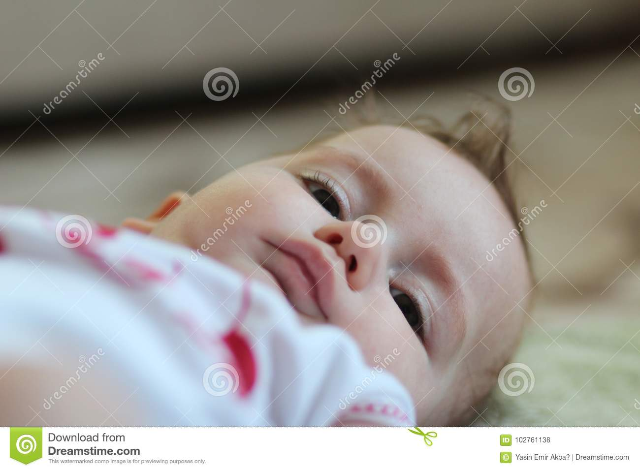 Download Little Baby Face Stock Photo Image Of Expression Beauty