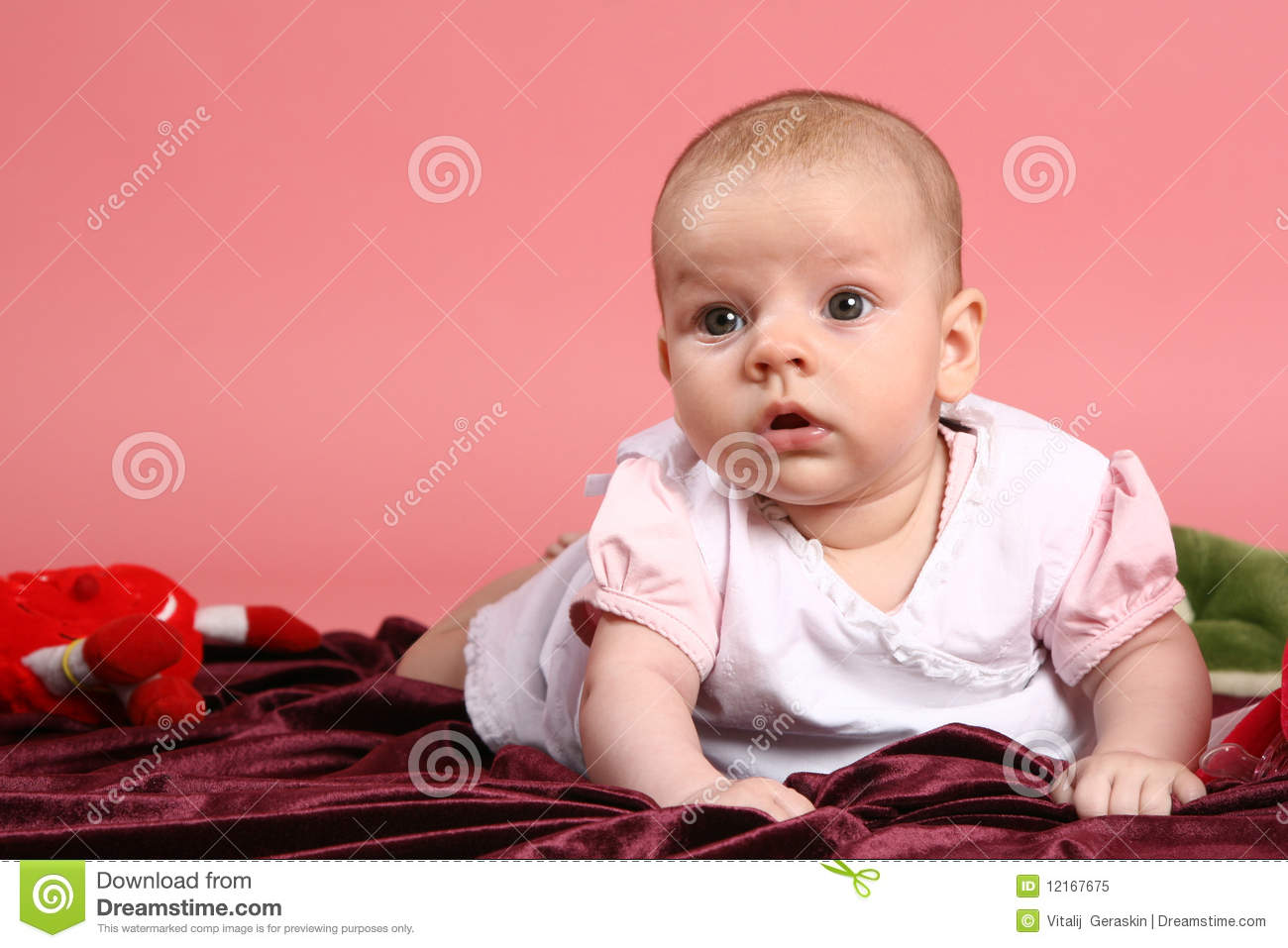 Little Baby Girl Royalty Free Stock Photo Image 12167675