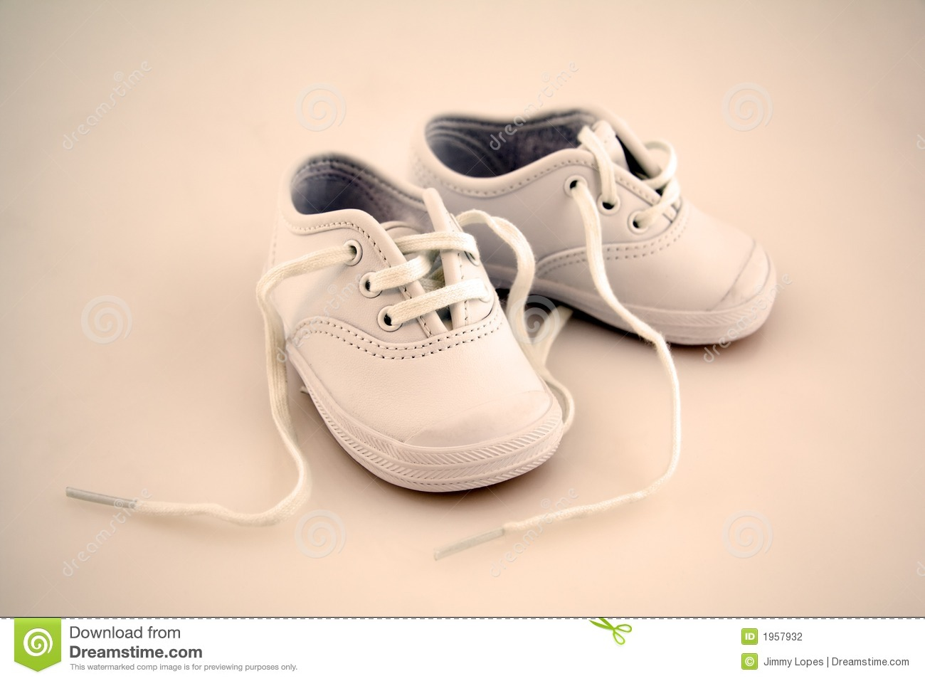 Little Baby Shoes Stock Photography Image 1957932
