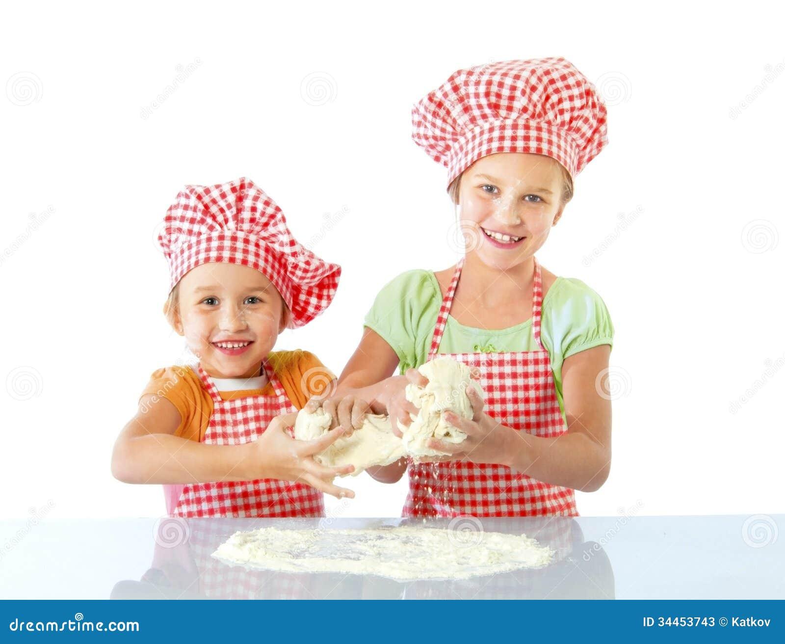 Little Bakers Stock Image Image Of Childhood Emotion