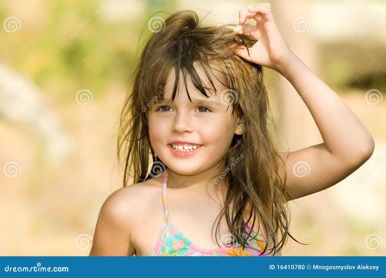 Little Beautiful Girl Stock Photo Image 16410780