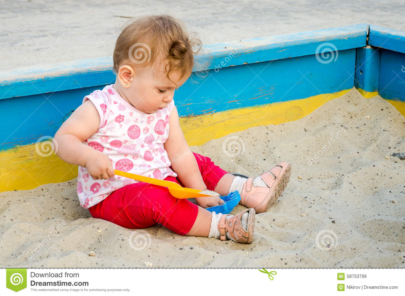 Sand Toys In The Playground Royalty-Free Stock Image ...
