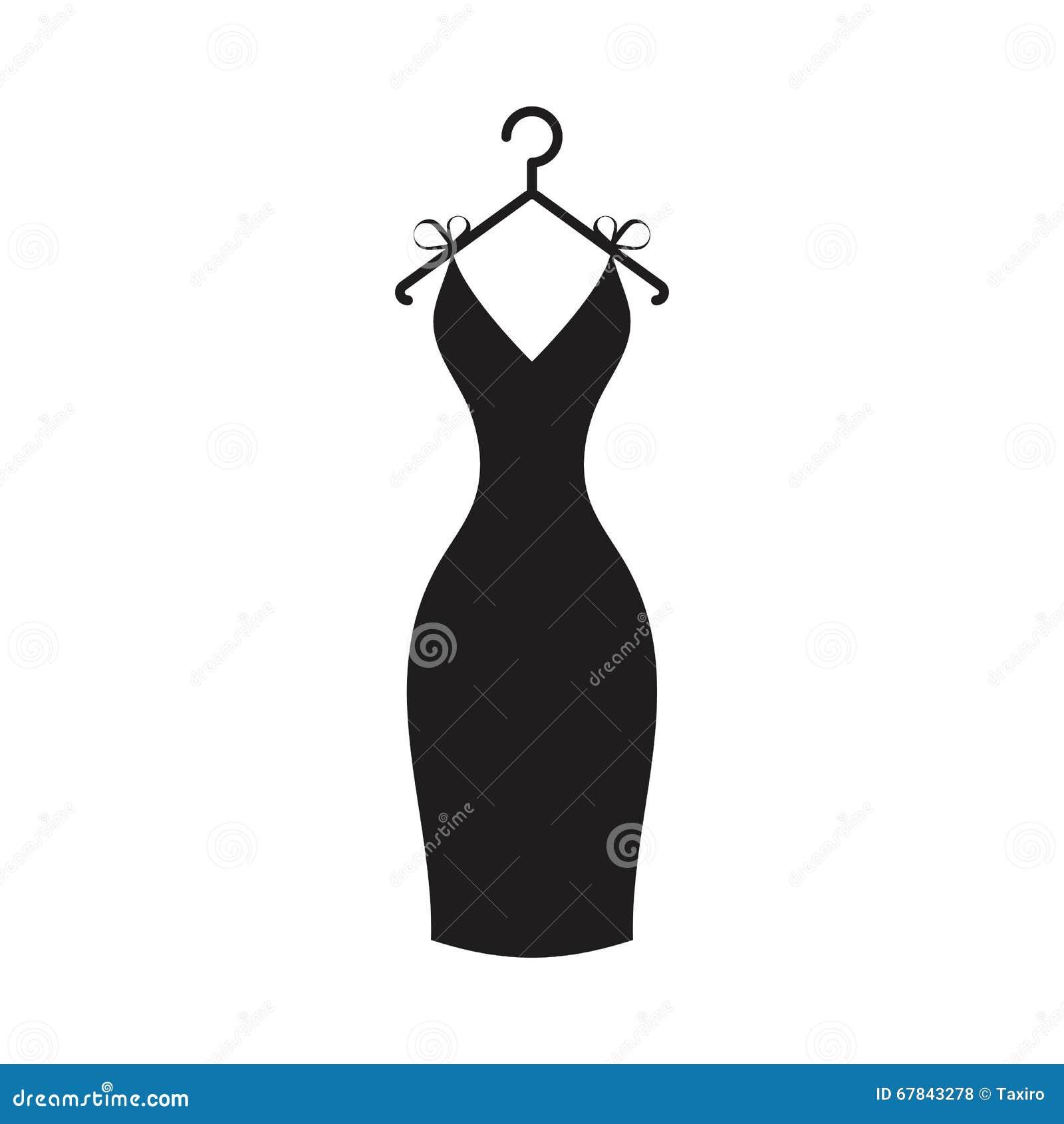 little black dress on hanger clipart wwwpixsharkcom