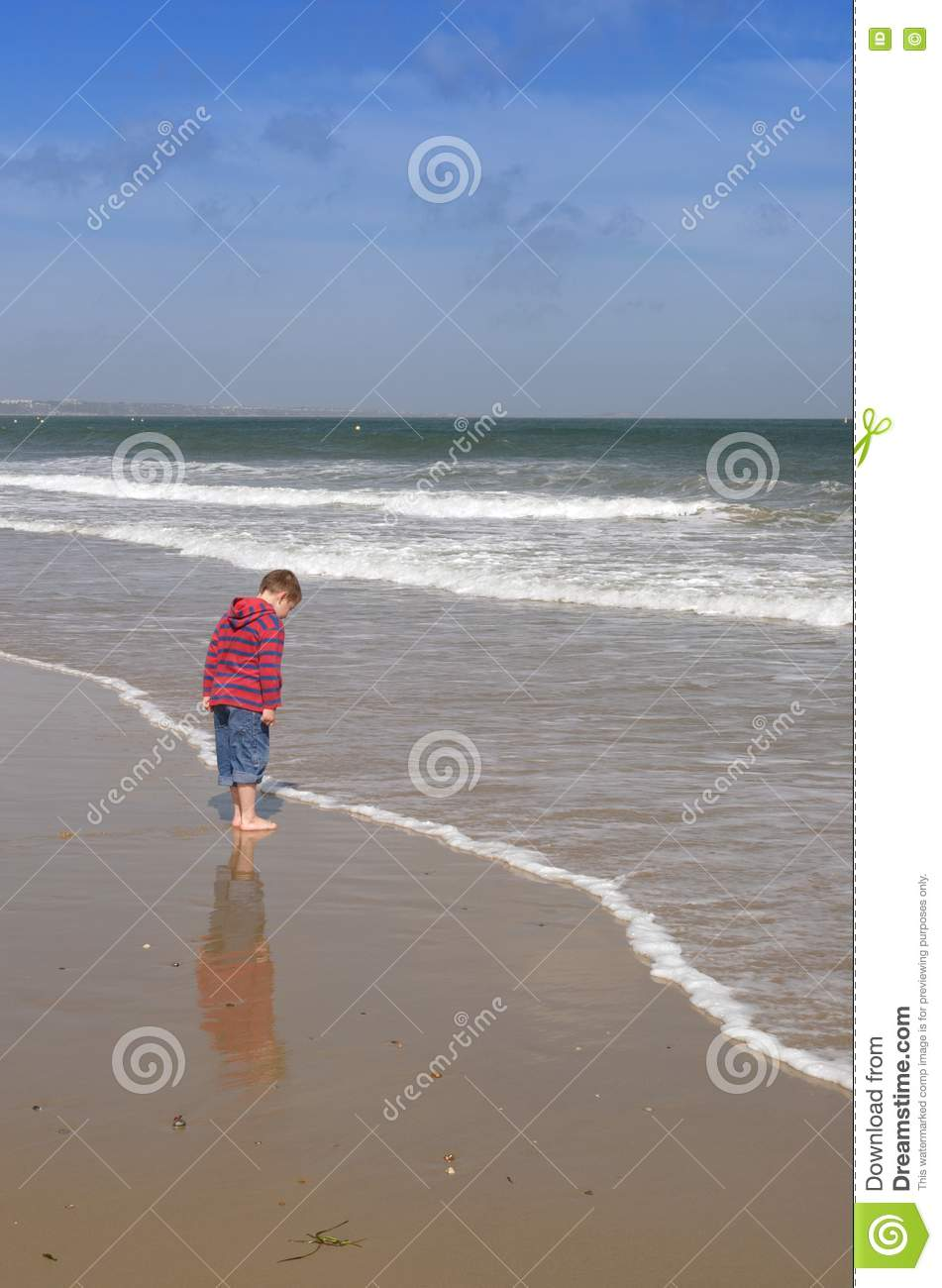 Boy Floating over Water Near Boy Standing on Side · Free