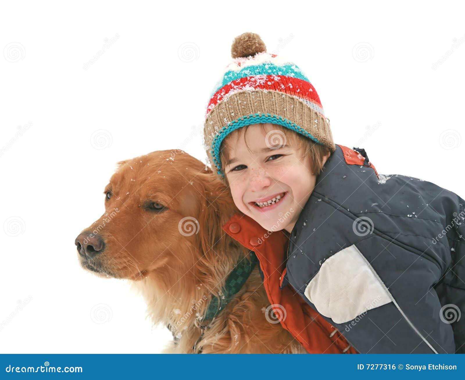 Little Boy con el perro