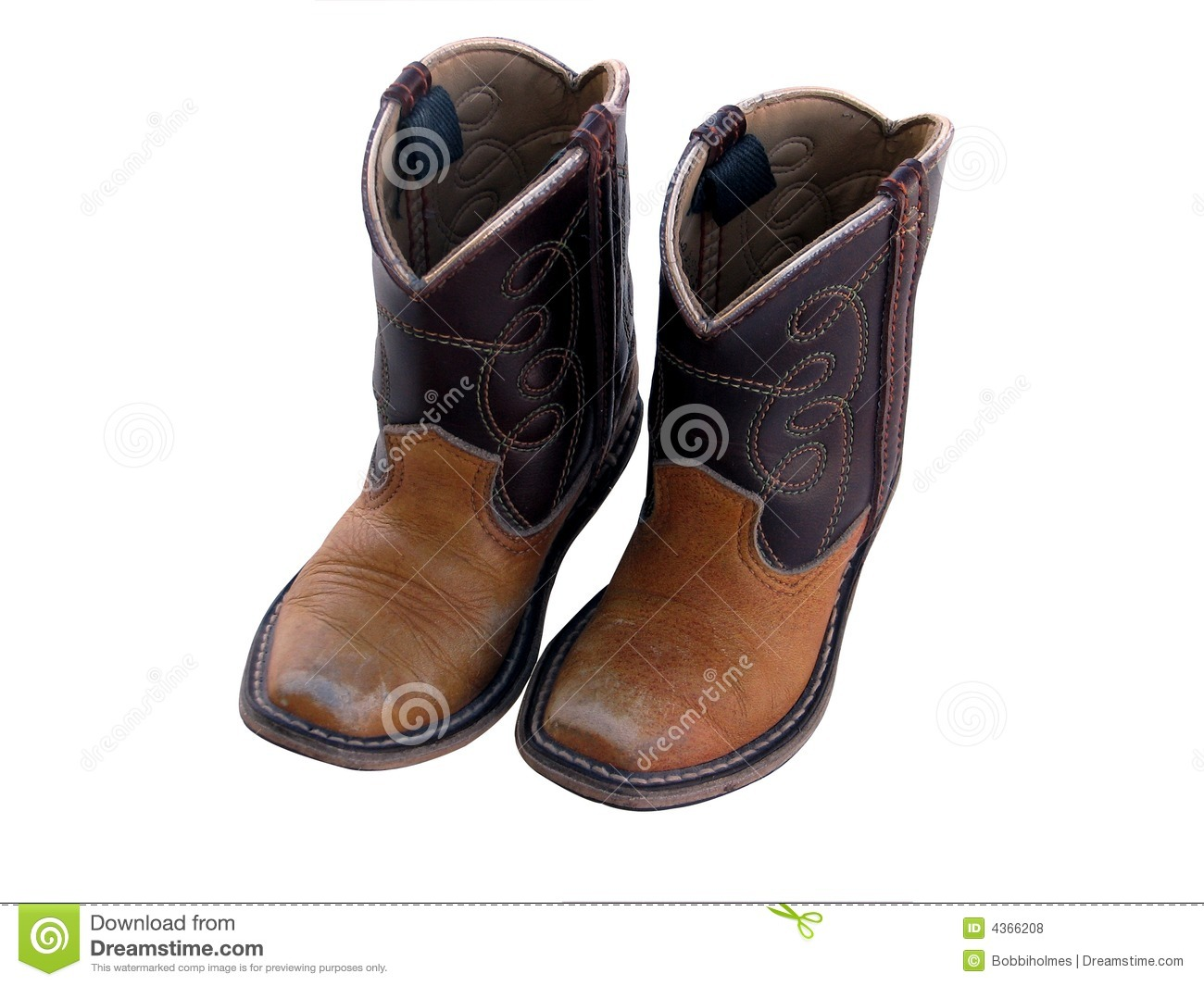 23a964381db Little boy cowboy boots stock photo. Image of leather - 4366208