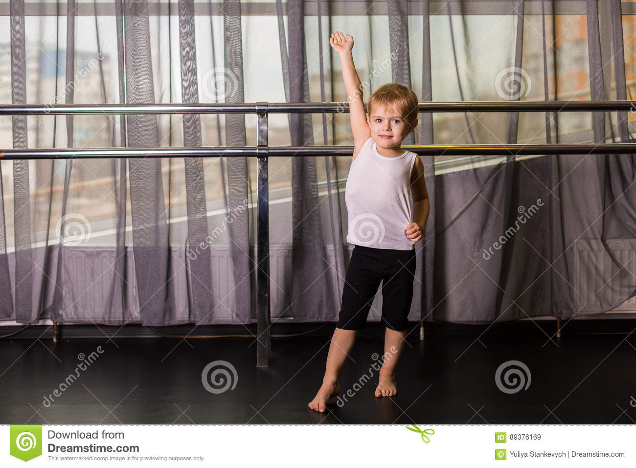 Little boy dancer