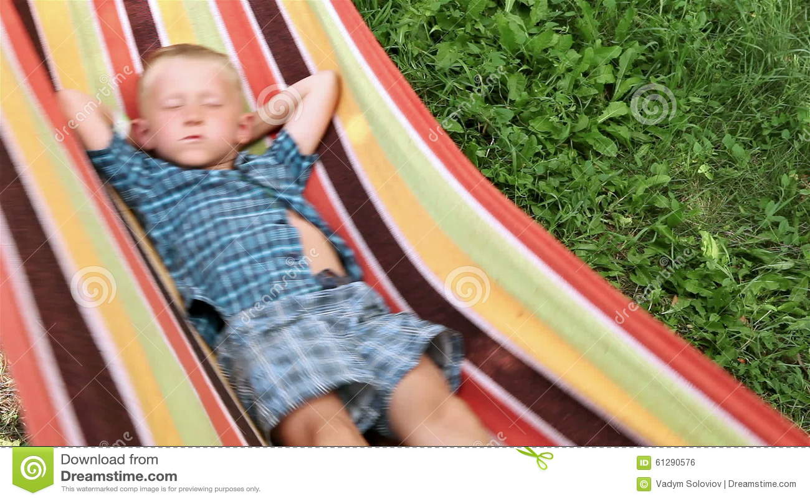 little boy enjoys free time in hammock stock footage   video of hammock blond  61290576 little boy enjoys free time in hammock stock footage   video of      rh   dreamstime