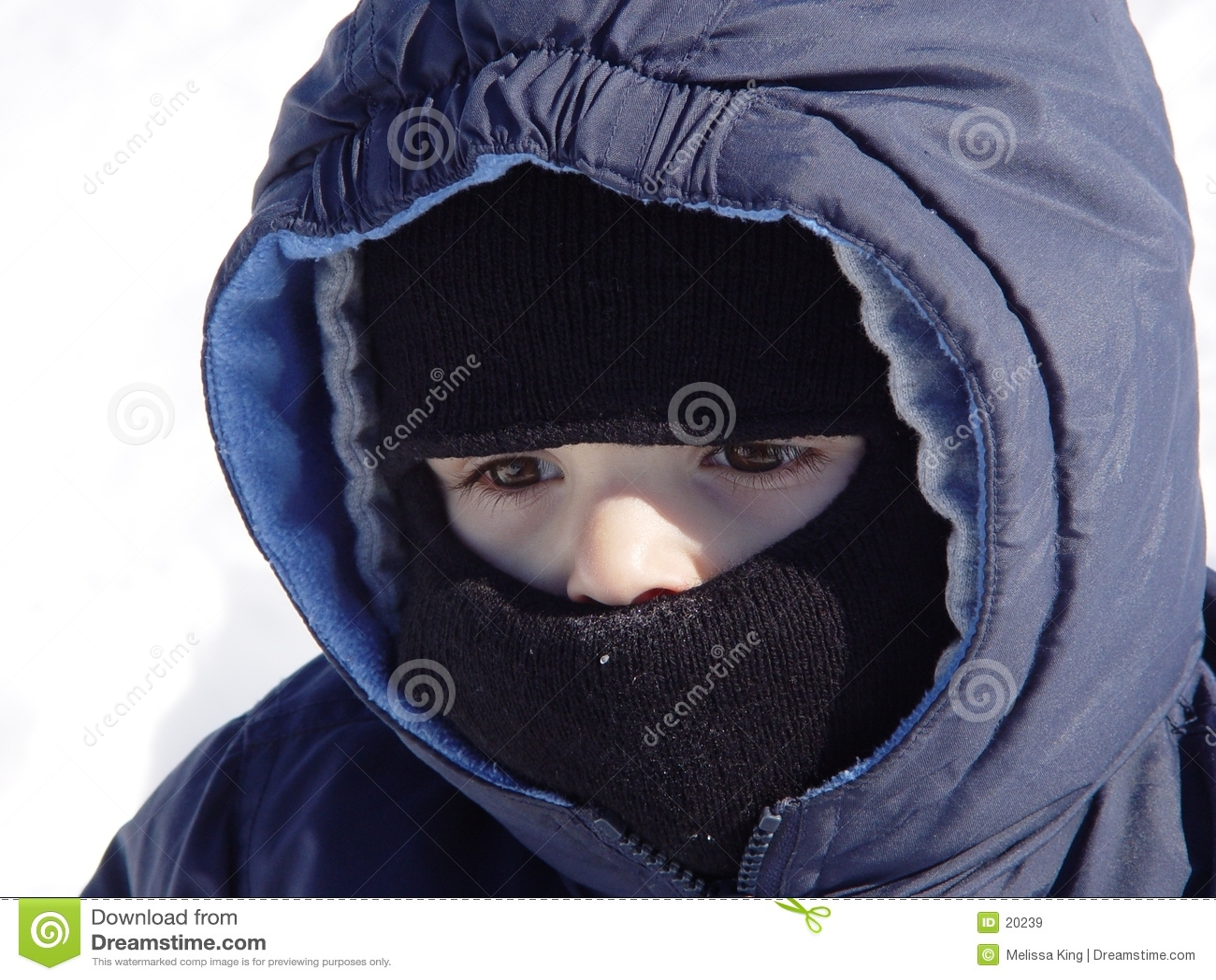 Little Boy froid