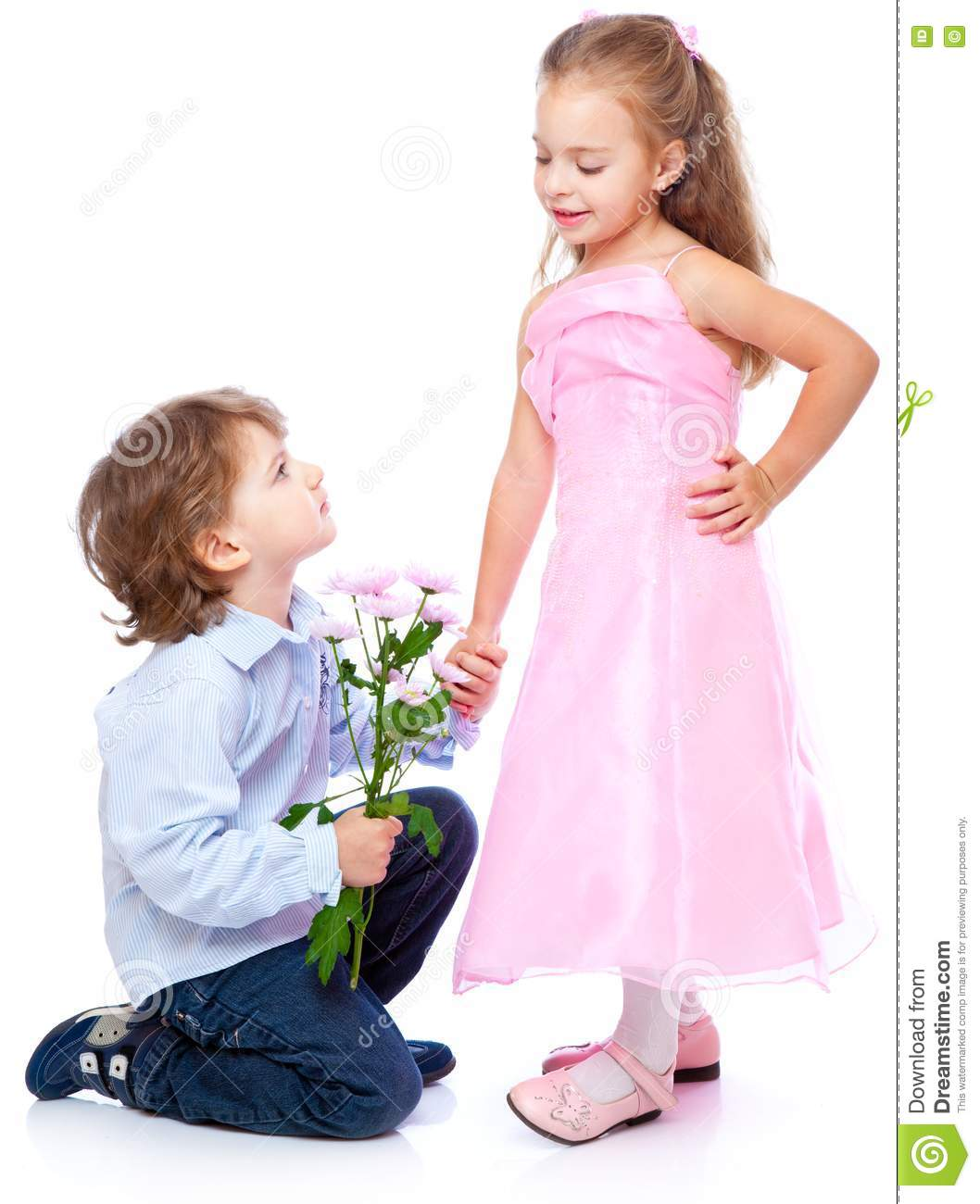 love of girl and boy