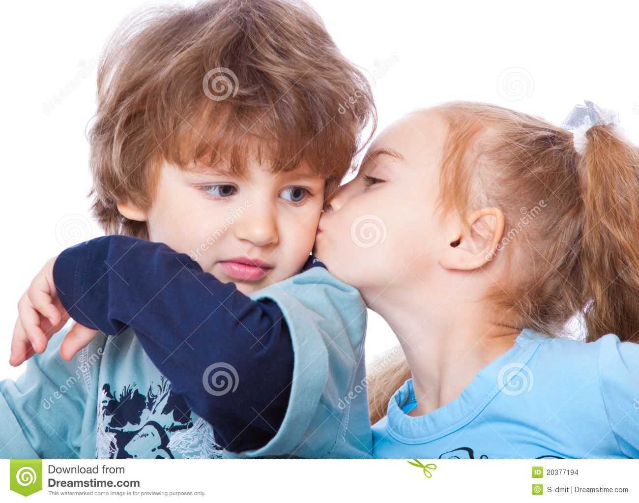 little boy and girl in love stock photo image of innocence