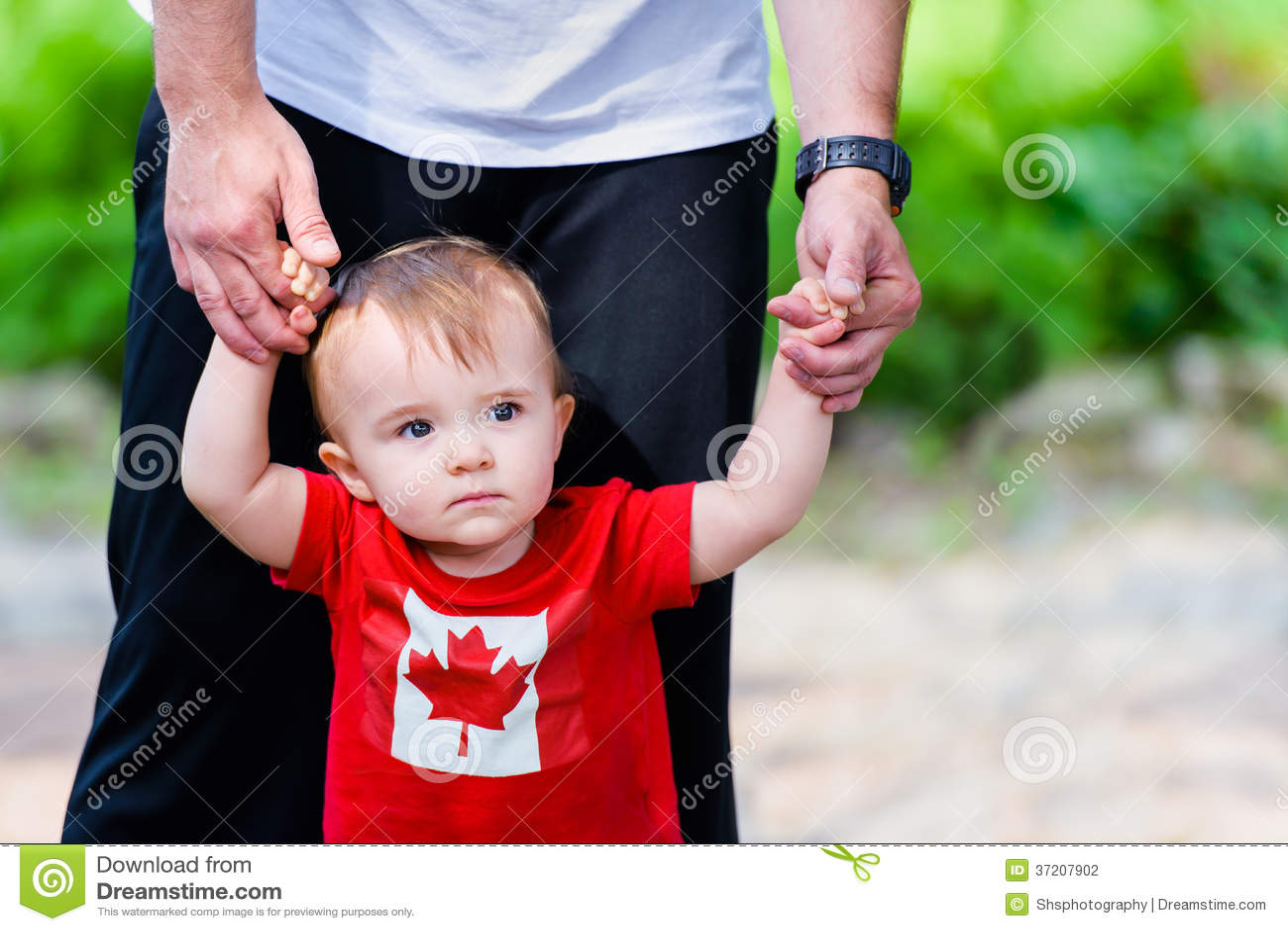 Little Boy in het Overhemd van Canada