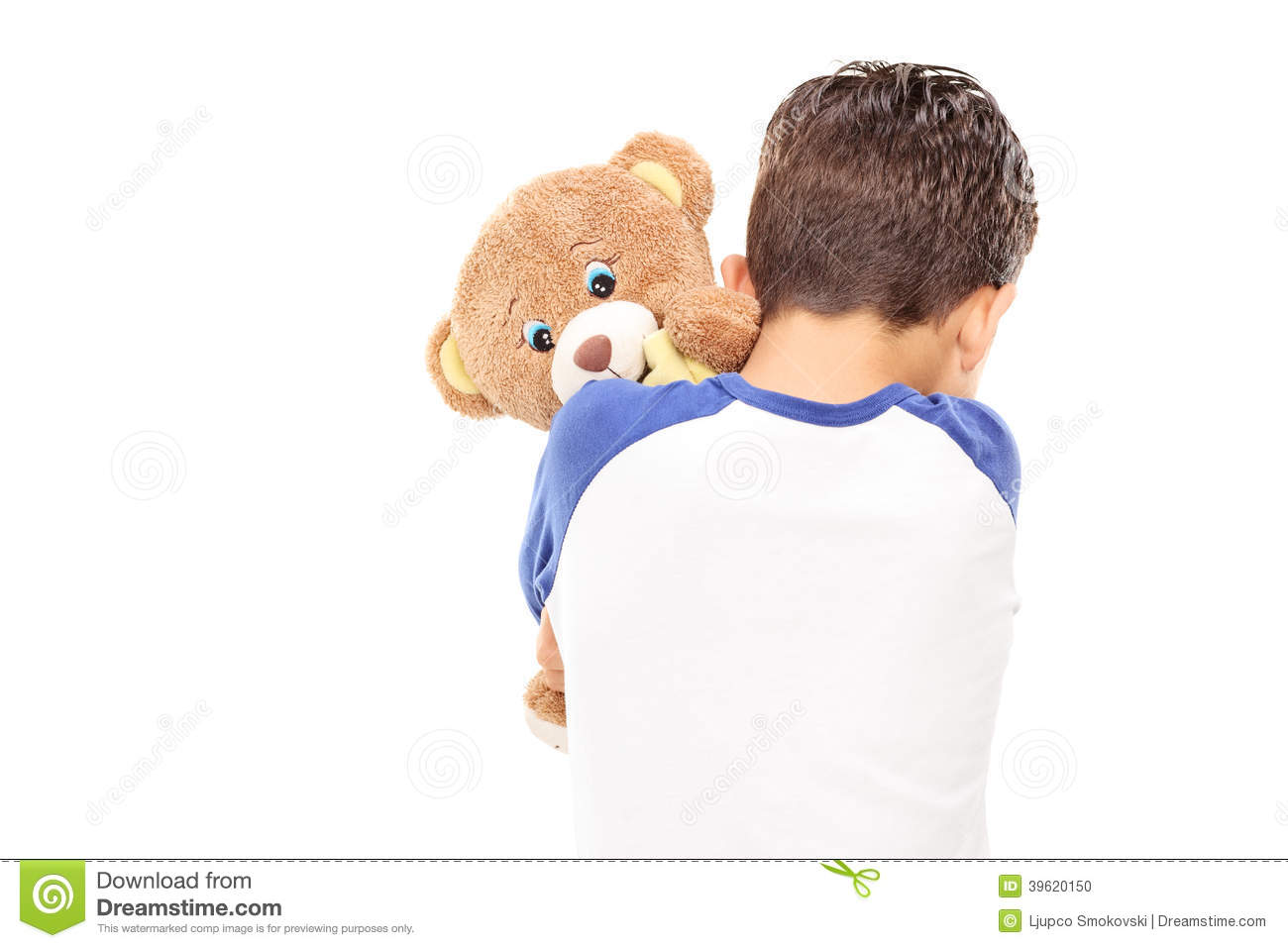 United Baggage Prices Little Boy Hugging A Teddy Bear Stock Photo Image 39620150