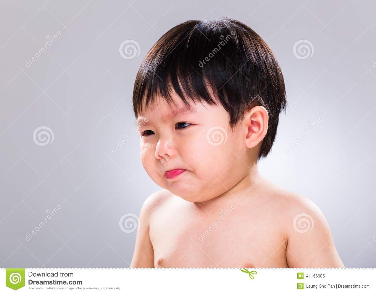 little boy jsut stop crying stock image image of baby purse 41166985