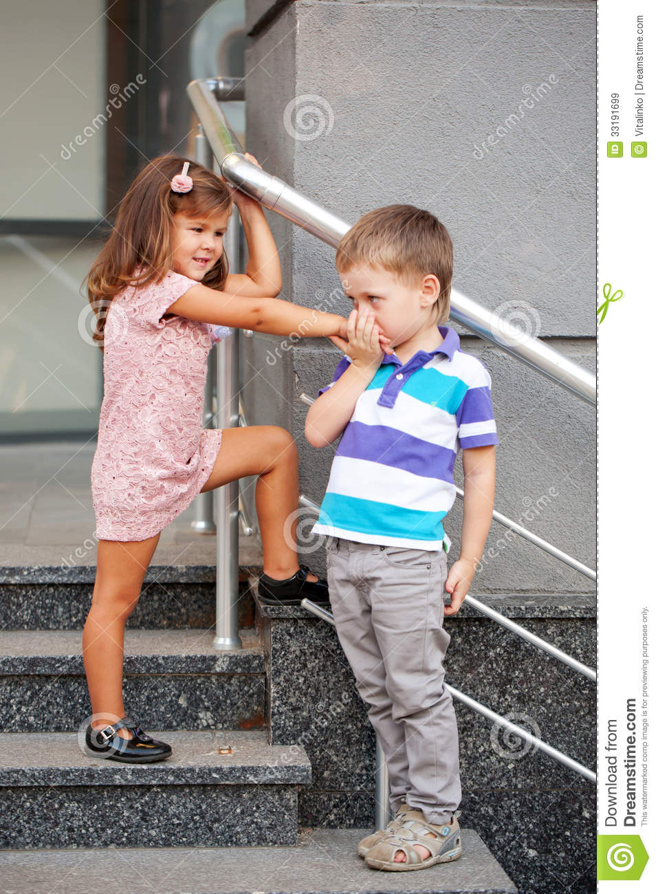 Little boy kissing the little girls hand stock image image of download comp thecheapjerseys Images