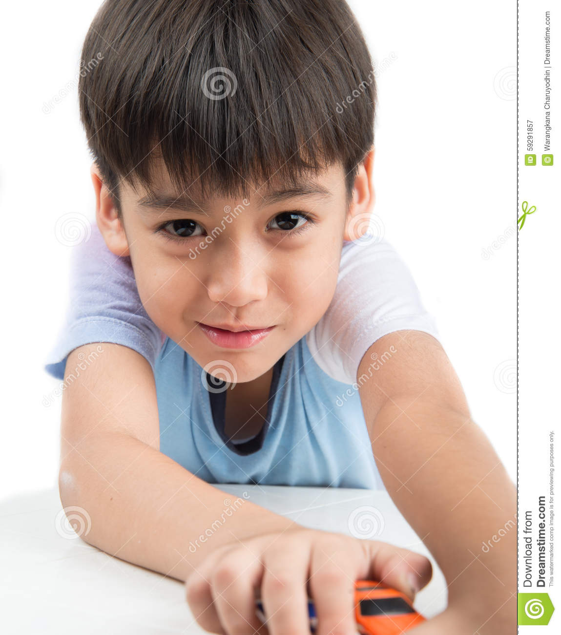 Little Boys Toys Border : Little boy playing with toy cars royalty free stock photo