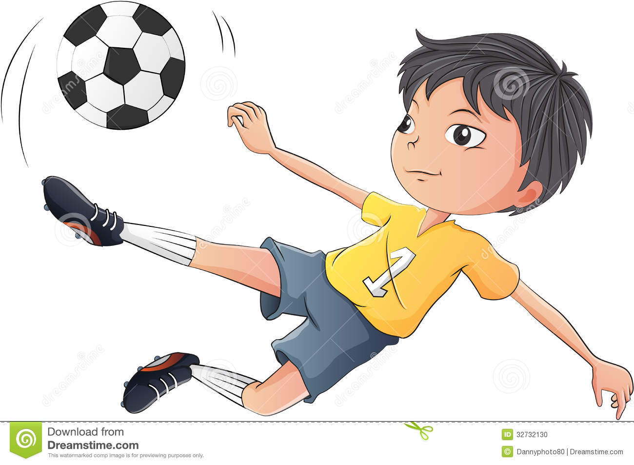 Little Boys Playing Soccer