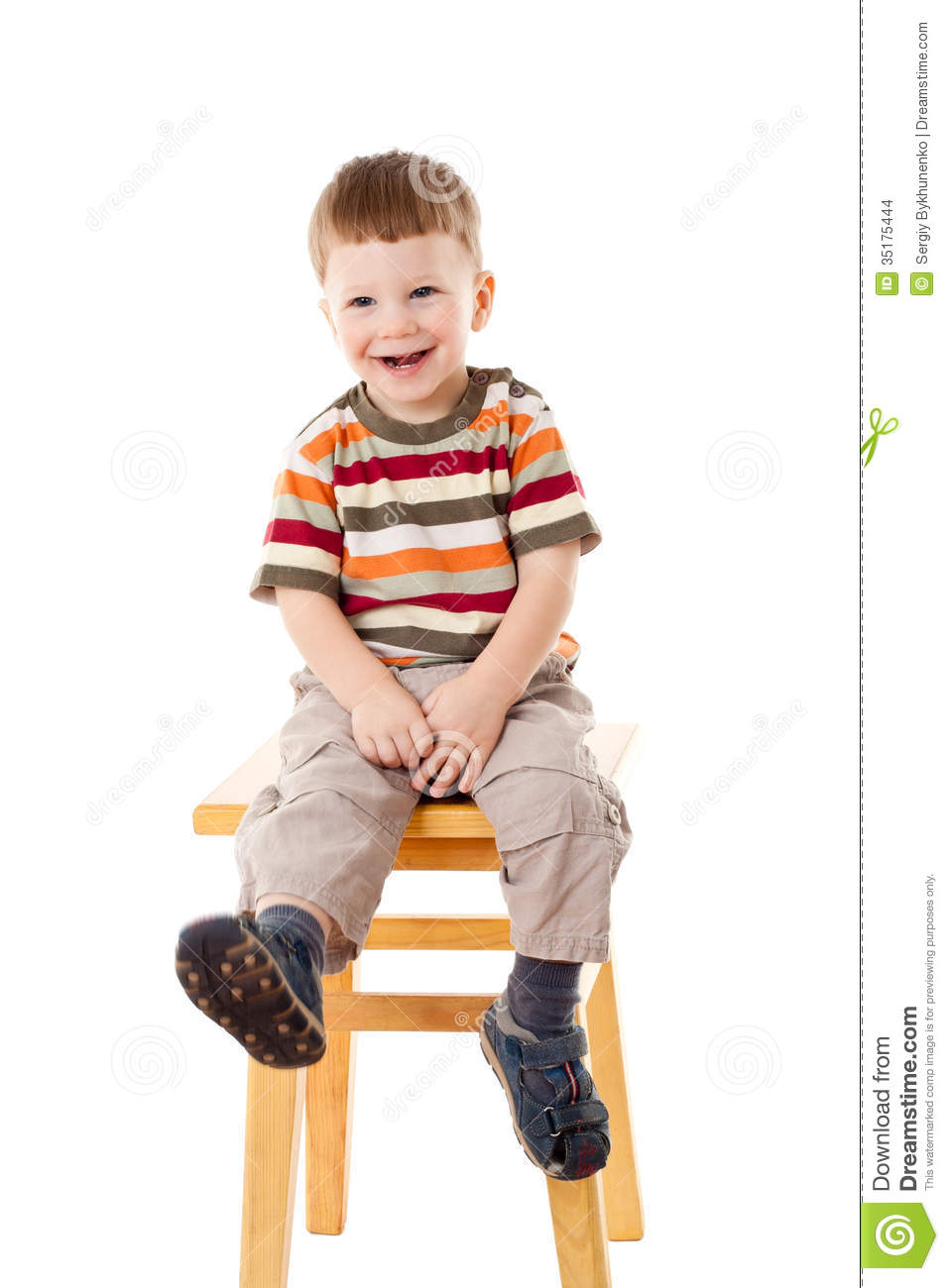 Boy Sitting On Stool Hot Girls Wallpaper