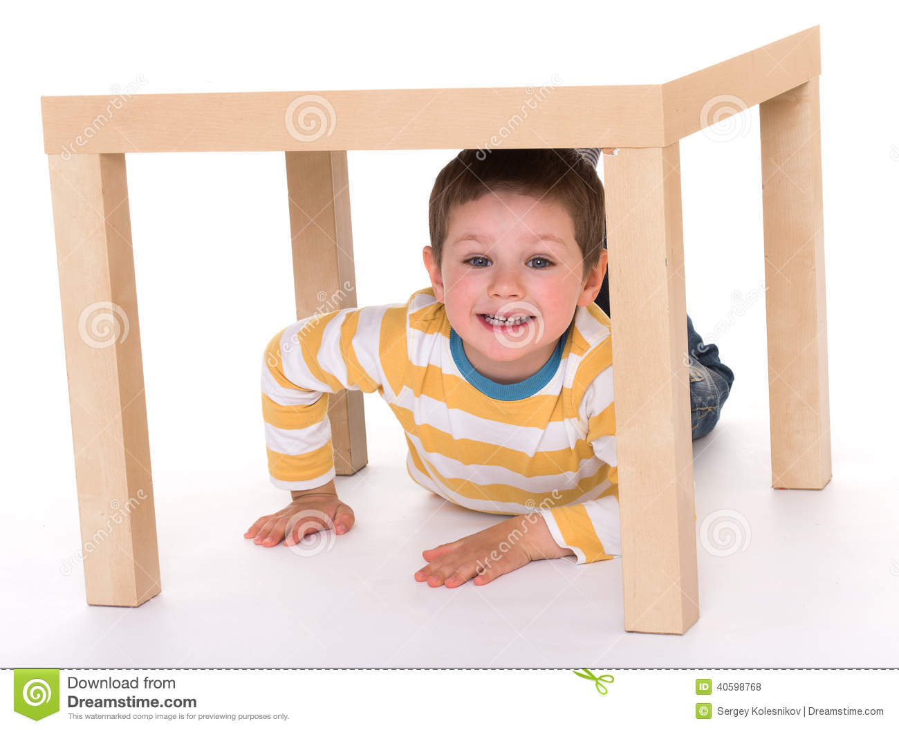 boy under table stock images 260 photos