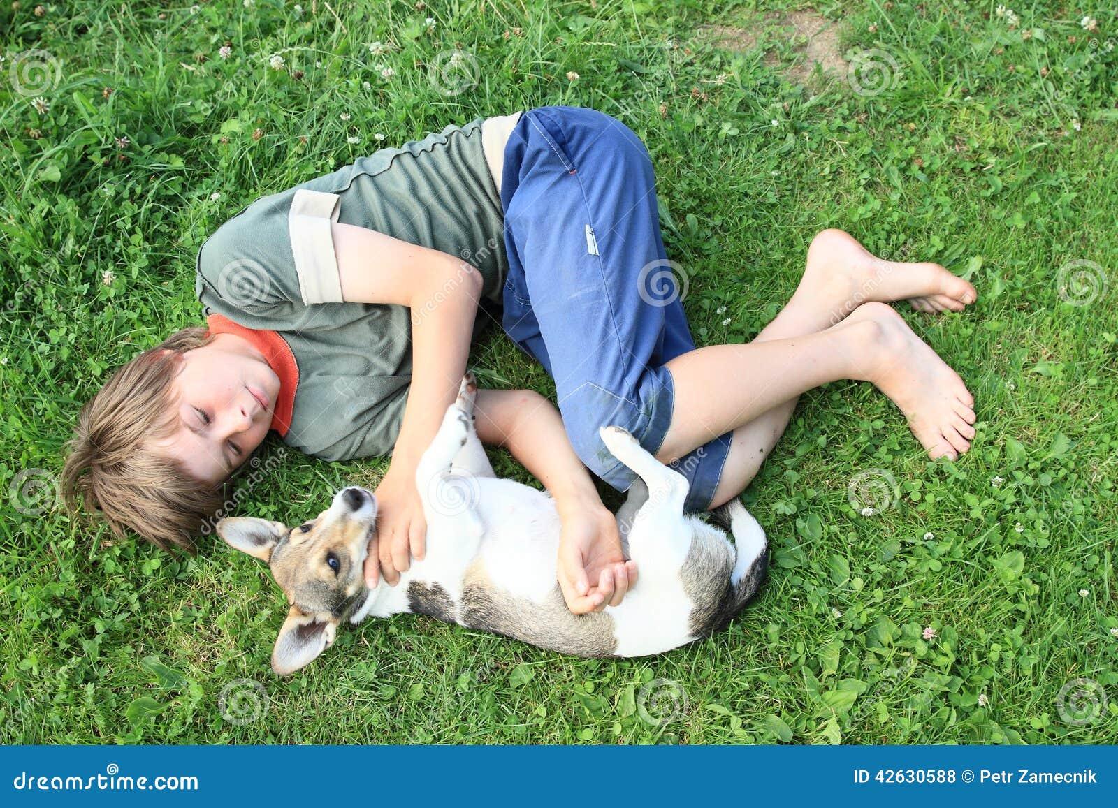 Dog Sleeps At Foot Of Bed
